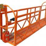 1000 kg 7,5 mx 3 τμήματα αναρτημένη πλατφόρμα εργασίας ζεύξης αλουμινίου zlp1000
