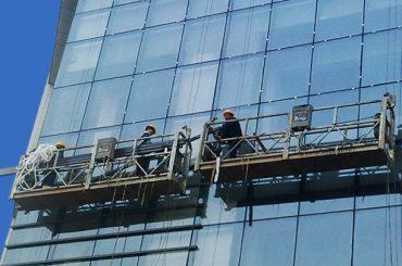 100μ - 300μ αιωρούμενες πλατφόρμες πρόσβασης 220v για ψηλό κτίριο ζωγραφική
