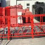 κτίριο καθαρισμού αναρτημένη πλατφόρμα εργασίας zlp800 με ονομαστικό φορτίο 800kg