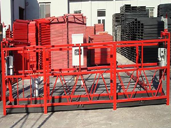 Κτίριο Καθαρισμός Αναρτημένη Πλατφόρμα Εργασίας Zlp800 με ονομαστικό φορτίο 800kg
