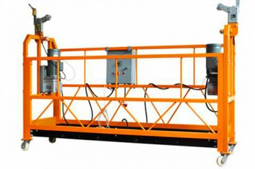 CE πιστοποιημένη αλουμίνιο αναρτημένη πλατφόρμα εργασίας zlp1000 ισχύς κινητήρα 2.2kw