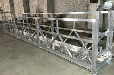 Ζεύγος χάλυβα ανελκυστήρα zlp800 380v 3 φάσεις για τον καθαρισμό εξωτερικών τοίχων