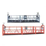 10m εξοπλισμό αναρτήσεως χάλυβα / αλουμινίου με ανάρτηση zlp1000 για 3 εργαζόμενους