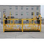 προσωρινά εγκατεστημένο εξοπλισμό πρόσβασης / γόνδολα / λίκνο / σκαλωσιά zlp500