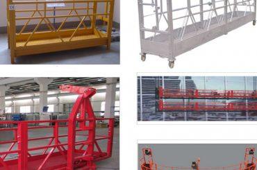 800 kg ζωγραφισμένο / ζεστό γαλβανισμένο / αλουμινένιο αναρτημένο εξοπλισμό πρόσβασης zlp800