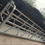 zlp630 / 800 ll κράμα αλουμινίου σχήμα, χάλυβα αναρτημένο πλατφόρμα εργασίας ανελκυστήρα στα παράθυρα κτίριο