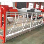 2 τμήματα 500kg ανάρτηση πλατφόρμα εργασίας με 3 τύπους αντίβαρο βάρος