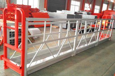 συστήματα ανάρτησης από ανθεκτικό κράμα αλουμινίου 1000 kg 2,2 kw για καθαρισμό παραθύρων