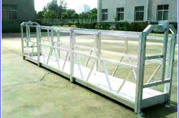 ατσάλινες / αλουμινένιες ανυψωμένες πλατφόρμες εργασίας με κλειδαριά ασφαλείας σειράς sal