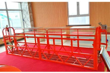χαλύβδινα πλατφόρμες πρόσβασης 7.5m 1.8kw 800kg συντήρηση κτιρίου