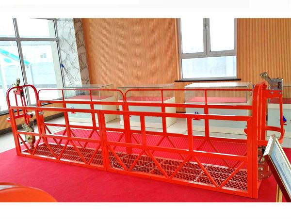 Μεταλλικές πλατφόρμες πρόσβασης 7.5m 1.8kw 800kg Συντήρηση κτιρίων