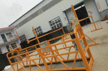 αξιόπιστη πλατφόρμα ζωγραφικής χάλυβα ψεκασμού zlp630 για την κατασκευή κτιρίων