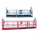 Ζεύγος 630 σχοινί ανελκυστήρα πλατφόρμα εναέρια εργασία swing στάδιο ικρίωμα με πλαστικό ψεκασμό βαμμένο