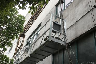 Ζεύγος 2,5m * 3 2,2kw 8kn αναρτημένες βάσεις πρόσβασης με ηλεκτρικό σύστημα ελέγχου