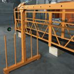 μονοψήφια πλατφόρμα συρματόσχοινο 800 kg 1.8 kw, ταχύτητα ανύψωσης 8-10 m / min