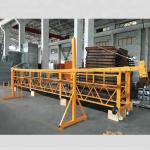 zlp 500 lp 630 προσωρινά αναρτημένη πλατφόρμα συρματόσχοινων για κτίριο