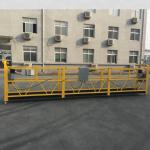 βαμμένο αλουμίνιο κρεμασμένο σχοινί καλώδιο πλατφόρμα 500kg / 630kg / 800kg / 1000kg