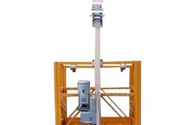 250kg ανυψωμένη εργατική πλατφόρμα ενιαίου ατόμου l διαρρήκτης με ltd6.3 ανυψωτικό