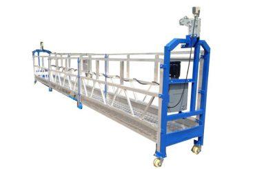 500 kg 2 m * 2 τμήματα αναρτημένο εξοπλισμό πρόσβασης κράματος αλουμινίου zlp500