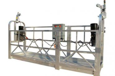 πλατφόρμα εργασίας ανυψωμένου κράματος αλουμινίου / γόνδολα / σκαλωσιά ζαπ 630