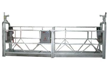 μετακινούμενη πλατφόρμα ανάρτησης με σχοινί ασφαλείας zlp500 με ονομαστική χωρητικότητα 500kg