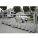 2.5mx 3 τμήματα σκαλωσιές πλατφόρμες εργασίας 800kg αλουμίνιο με κλειδαριά ασφαλείας 30kn