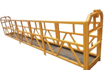 σχοινί κρεμασμένο αναρτημένη πλατφόρμα πρόσβασης, zlp630 μηχανή ανελκυστήρα κατασκευής γόνδολα